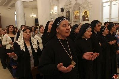 Chrétiens en Syrie